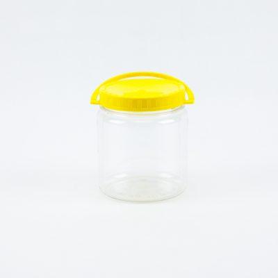Bote plástico 1kg, Pot plástic 1kg, Pot plastique 1kg, Plastic bucket 1kg