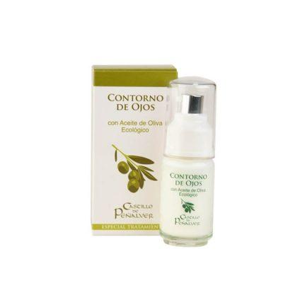 Contorno de ojos con aceite de oliva ecòlogico, Contour yeux avec huile d'olive ecologique, Contour eyes with organic oil olive
