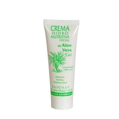 Crema hidro nutritiva facial de Àloe Vera, Créme pour le visage avec Aloe Vera, Aloe Vera facial cream