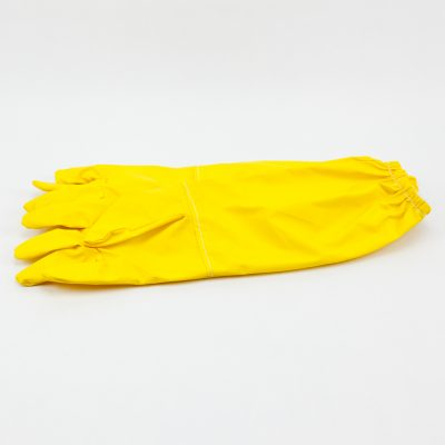Guantes amarillos y blancos Guans grocs i blancs Gants jaunes et blancs Yellow and white gloves
