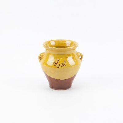 Bote cerámica, pot cerámica, jara, céramique, ceramic