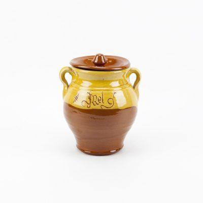 Bote cerámica, pot cerámica, jara, céramique..ceramic