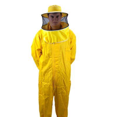 Buzo amarillo Mono groc Combinaison jaune Yellow suit beekeeper2