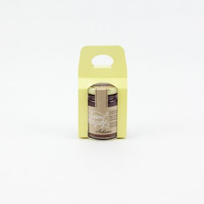 Expositor amarillo un bote 125g, Expositor groc un pot 125g