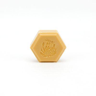 Jabón con miel de tomillo y propolis, Sabó amb mel de farigola i propolis, Savon avec miel de thyme et propolis, Soap with propolis