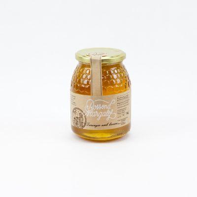 Mel taronger amb bresca, Miel de naranjo con miel en panal, Orange honeycomb, Miel d'oranger avec miel en rayon